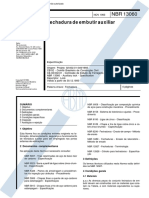 NBR 13060 - Fechadura de Embutir Auxiliar