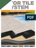 Alliance Gator Tile System Installation Guide 2016