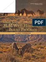 Using Science to Improve the BLM Wild Horse and Burro Program- large