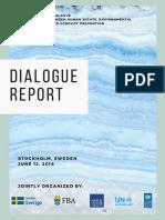 Dialogue Report - Stockholm Dialogue - June 12