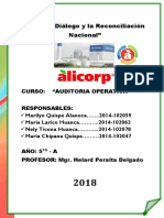 AUDITORIA OPERATIVA ALICORP