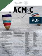 CARTEL Convocatoria PACMyC 2018