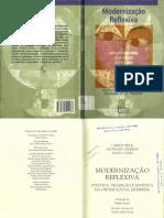 Anthony Giddens, Ulrich Beck, Scott Lash - Modernidade Reflexiva