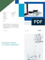 Eckart Rheological Products