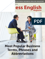Most Popular Business Terms BEM42