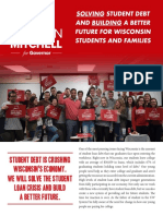Mahlon Mitchell - Solving Student Debt & Building a Better Wisconsin for Students and Families