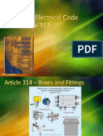 3 National Electrical Code Definitions ARTICLE 314