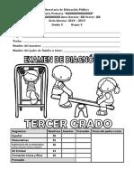 examen DIAGNOSTICO 3RO