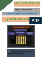 Clase 2 - 2 Definiciones - Tecnologia de La Construccion - Ing. Cachay