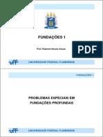 Fundações 1 - Problemas Especiais Em Fundações Profundas