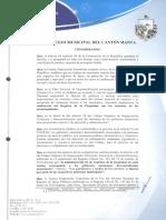 Ordenanza Sustitutiva Que Regula La Organizacion, Administracion y Funcionamiento Del Registro d