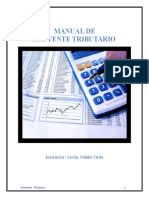 Manual de Tributario Reducido