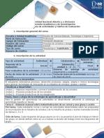 Guía de Actividades y Rúbrica de Evaluación - Tarea 6 - Elaborar Manual Sobre Industrialización de Un Cereal y Una Grasa o Aceite