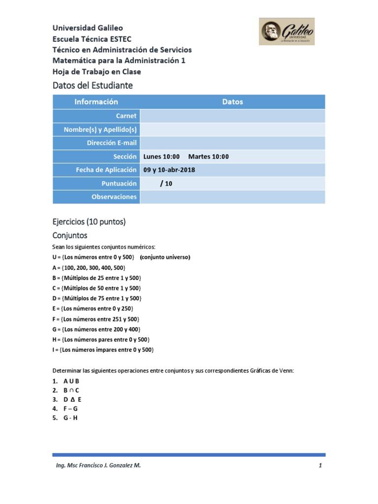 Lujo Clase De Matemáticas 5 Hojas Elaboración - hojas de trabajo ...