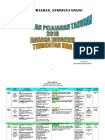 SMK GUNSANAD Form 2 English Learning Plan