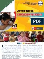 Programacion Curricular de RELIGION 2017