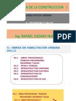 Clase 4 - 4 Seguridad y Salud - Tecnologia de La Construccion i - Ing. Cachay