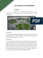 La Plaza San Martin y Sus Alrededores