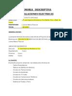 MEMORIA  ELECTRICAS cusco.doc