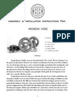 Moxon Vise Instructions-BC0317