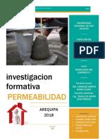 Investigacion Formativa Permeabilidad