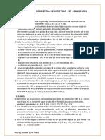 Balotario Geometria Descriptiva -Ef