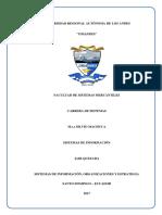 Sistemas de Información - Sistema de Información, Organizaciones y Estrategias