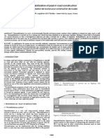 Blockstabilization of Peat in Road Construction
