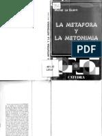 La Metáfora y La Metonimia