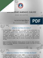 Introducción Base de Datos