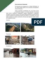 Cuáles Son Las Amenazas Naturales de Guatemala