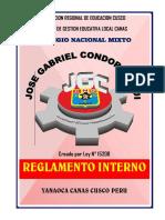 Reglamento Interno Jgc Canas 2018
