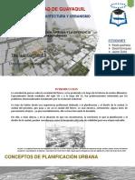 Plan Urbana Diseño