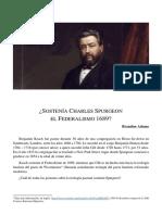 Charles Spurgeon y Su Teologia Del Pacto - Brandon Adams