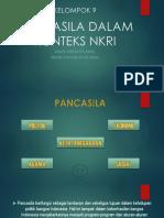 Pancasila Dalam Konteks Nkri