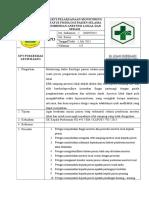 49 Sop Bukti Pelaksanaan Monitoring Status Fisiologi Pasien