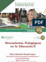 Herramientas Pedagogicas en La Educación II