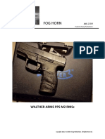 Walther Arms PPS M2 RMSc