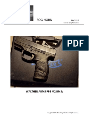 Walther Arms PPS M2 RMSc   Trigger (Firearms)   Firearm