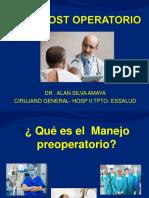 01. Patología Quirúrgica-pre y Post Operatorio