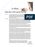 Interview With Lynne Murray