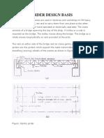 Gantry Girder Design Basis