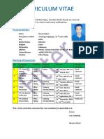 CV Fitter Hasan Azhari