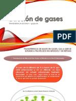 DIFUSIÓN DE GASES
