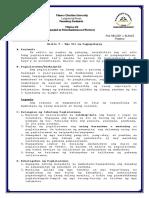 Filipino 416 Report