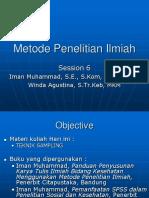 MPI-sess_6-7-Teknik-Sampling (MANDIRI 1).ppt