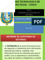 Aud.sistemas Informe