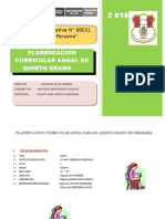 PLANIFICACION CURRICULAR QUINTO GRADO 2018.doc