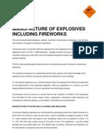 Explosives Factsheet 8 Manufacture Explosives Including Fireworks 5259