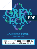 2018 Grey Fox Program Book